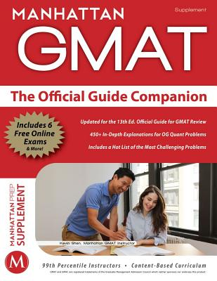 The Official Guide Companion By Manhattan GMAT (COR)